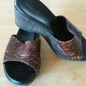 Diego Di Lucca wedges  Sz 9